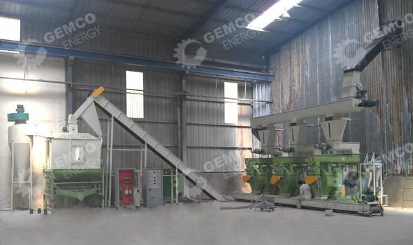 Завод по производству линии пеллет